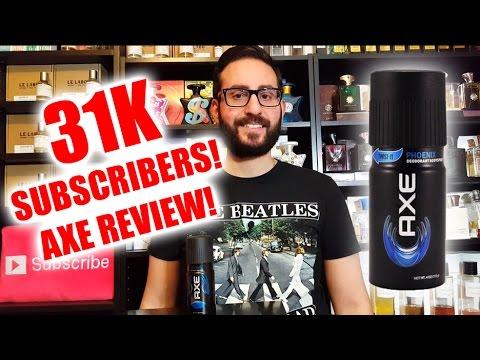 31,000! Axe Phoenix Fragrance / Cologne Review
