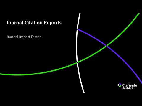 Image result for clarivate journal citation reports