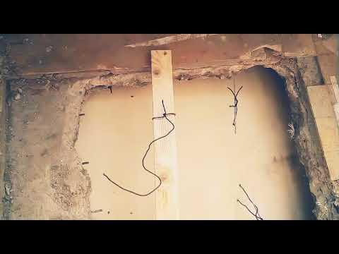 Gat in de vloer dichtmaken met beton youtube for Trapgat maken in beton