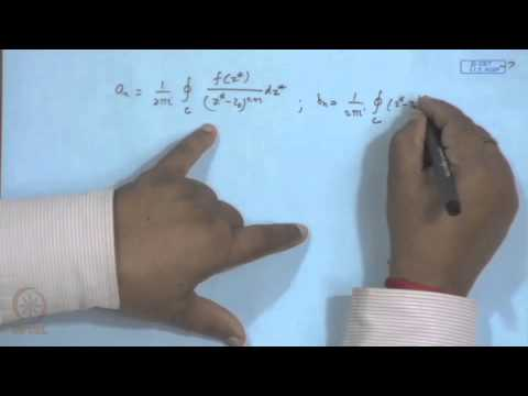 Mod-02 Lec-20 Taylor's, Laurent Series of f(z) and Singularities