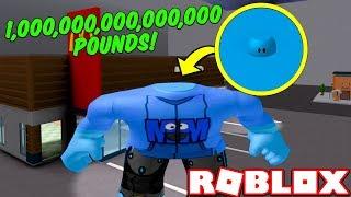 BECOMING 1 MILLION POUNDS... (Roblox Fat Simulator)
