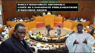 Urgent - l'immunité parlementaire d'Ousmane Sonko levée