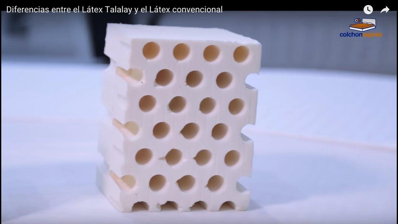 Diferencias entre el l tex talalay y el l tex convencional youtube - Diferencias entre colchones ...