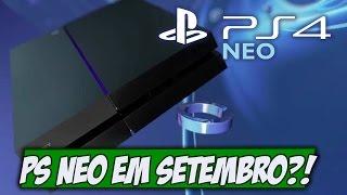 Nintendo aprende com seus erros e Playstation Neo em Setembro? - Gamervlog