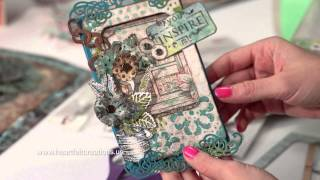 How to Create Unique Cards and DIY Washi Tape by Heartfelt Creations