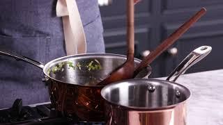 AllClad Copper Cookware | Williams Sonoma