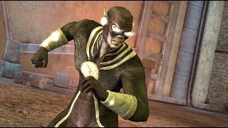 Blackest Night Flash GAMEPLAY & SUPER MOVE Injustice Gods Among Us Mobile 3.1