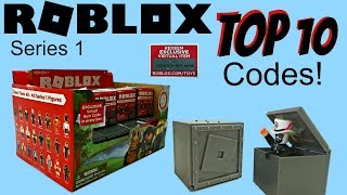 Roblox Toys - Top 10 CODES! + My Full Series 1 Collection