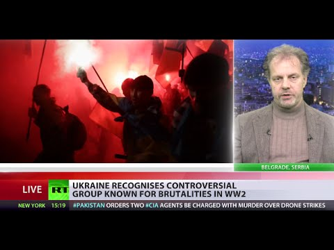 'We're seeing revival of Nazism & fascism in Ukraine'