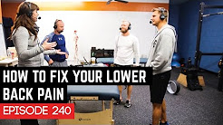 How To Fix Your Lower Back Pain - 240