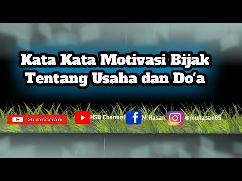 kata-kata-motivasi-bijak-tentang-usaha-dan-do'a