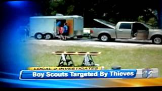 Dangerous Trailers.org Presents Yet Another Boy Scout Trailer Stolen We Know Why!