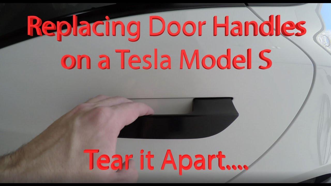 Replacing Tesla Model S Door Handles; Tearing Apart my Tesla ...