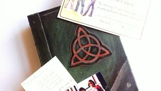 Prescott Manor | Prop Replica : Charmed | Book Of Shadows Unboxing