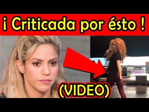 Shakira CRITICADA POR ÉSTE VIDEO bailando Rabiosa / VIDEO