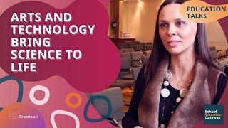 Education Talks | Arts and technology bring science to life thumbnail