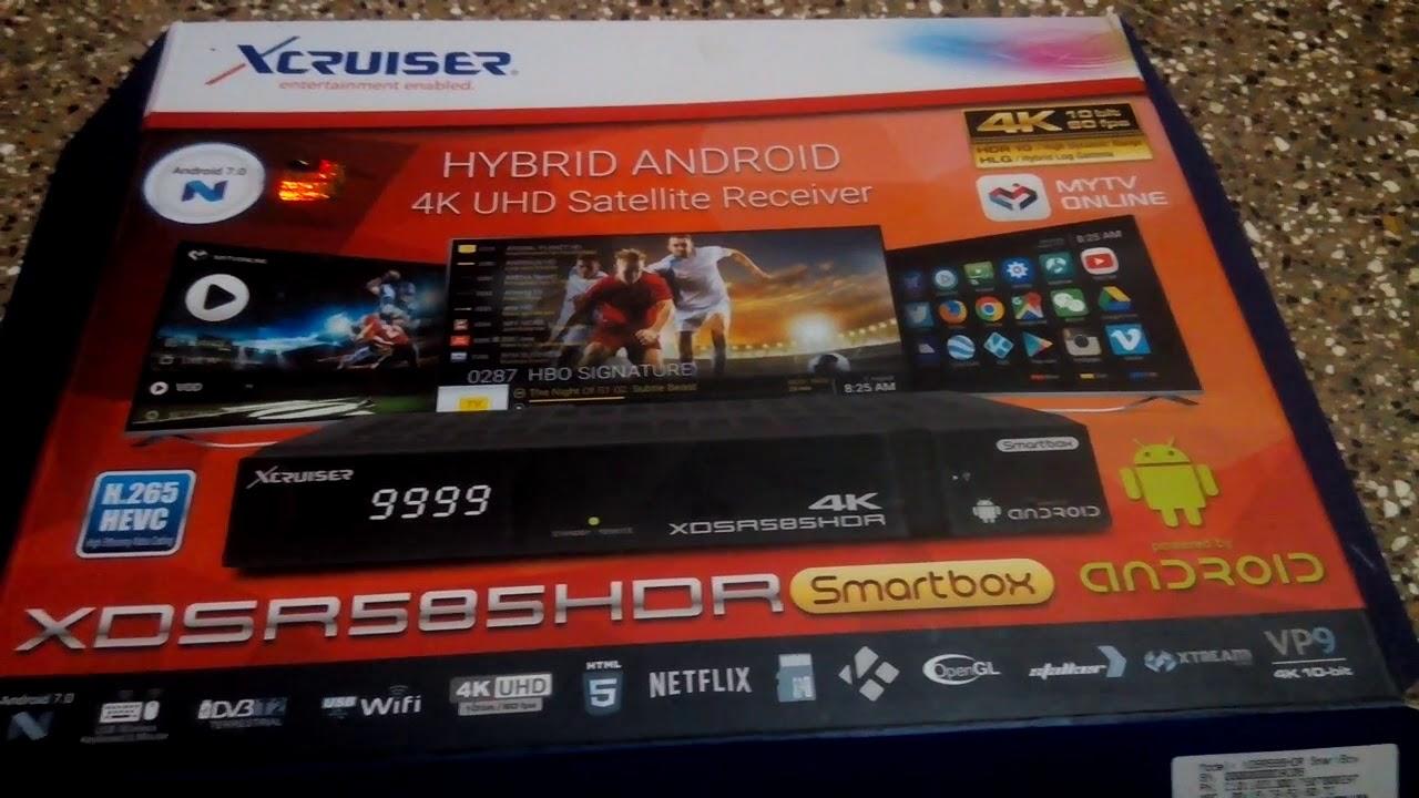 Xcruiser 585 4K Android box