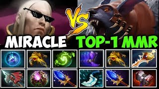 MIRACLE- vs MATUMBAMAN [EPIC] INVOKER GOD vs TOP-1 RAPIER URSA