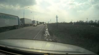 видео аварии у парома(Дурак на грузовике., 2015-04-19T18:27:51.000Z)