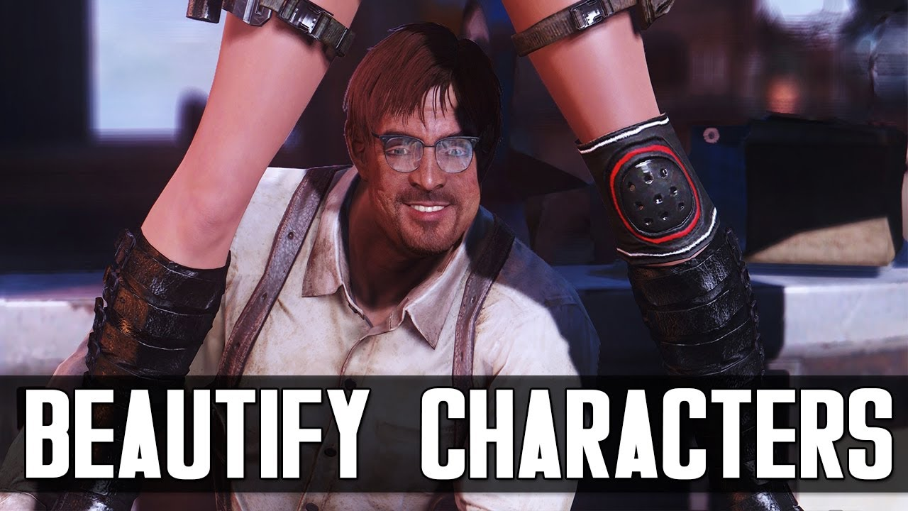 BEST MODS FOR BEAUTIFUL CHARACTERS IN FALLOUT 4