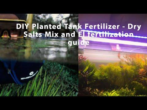 DIY Planted Tank Fertilizers - Dry Salts Mix And EI Fertilization Guide