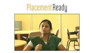 PlacementReady Sucess Stories - Sree Janani, Student of KLN College of Engineering