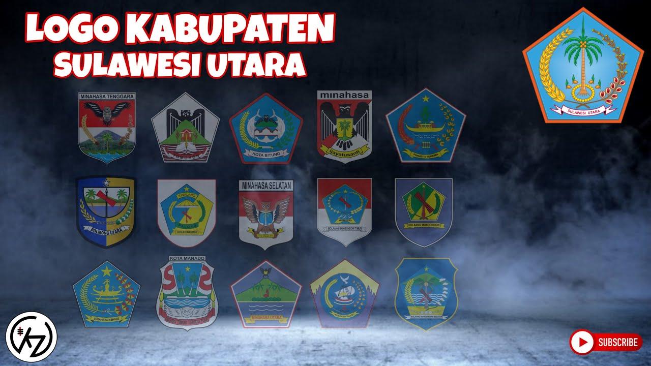 Logo Kabupaten Di Sulawesi Utara Youtube