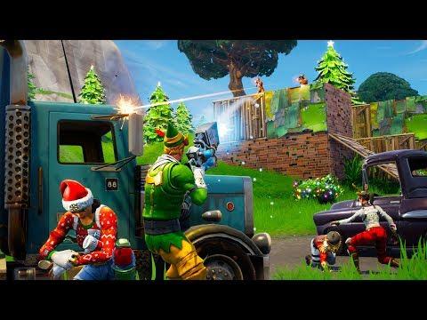 NEW CHRISTMAS UPDATE!! *SNOWBALL ROCKET LAUNCHER* (Fortnite Battle Royale)