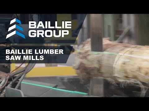 Baillie Lumber Sawmill Operations