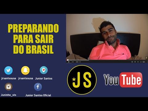 PREPARANDO PARA SAIR DO BRASIL