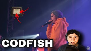 THIS MAN CAN'T BE REAL! CODFISH GBB COMPILATION (2019) MUSIC DEGREE REACTIONS!