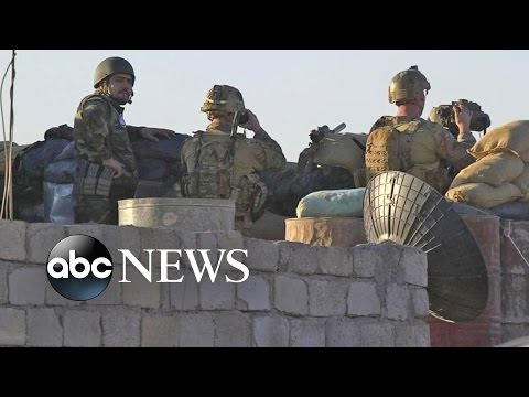 US Supports Iraqi Forces in Mosul