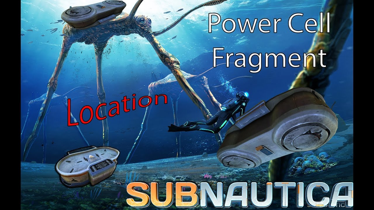 Power Cell Charging Fragment Location Subnautica Youtube