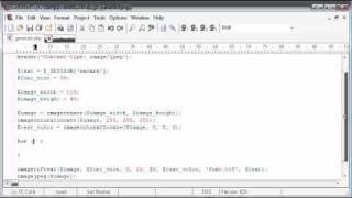Beginner PHP Tutorial - 166 - Creating Captcha Image Security Part 3
