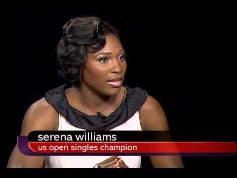 Serena Williams Charlie Rose Interview [09/18/2008]