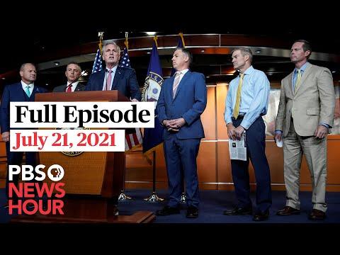 PBS NewsHour full episode, July 21, 2021