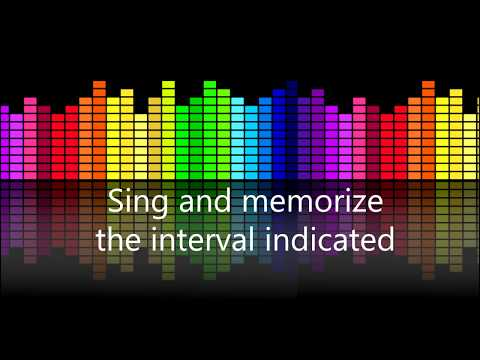 Musical Intervals: Sing, memorize and learn to identify intervals