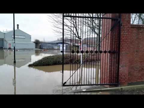 York Floods - River Foss