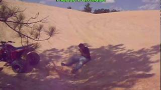 TRX 450 crash Mississippi sand dunes