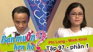 El chico llevó...una pistola de agua en una cita con su novia | Phi Long - Minh Khoi | BMHH 97 😅