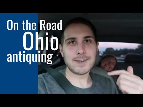 Columbus, Ohio Antique Mall Shopping - On The Road To Pennsylvania!