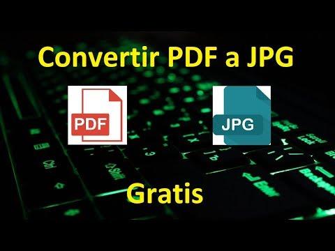 Convertir PDF A JPG O Imágen Tutorial