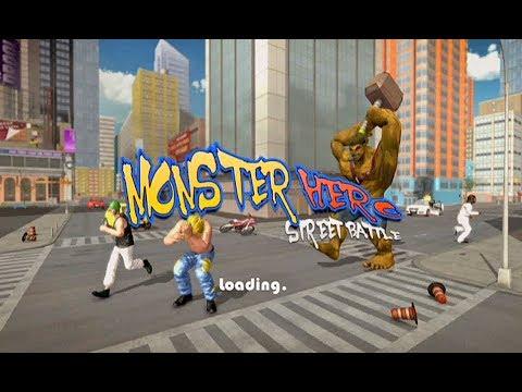 Monster Hero vs Crime City Fighter - 동영상