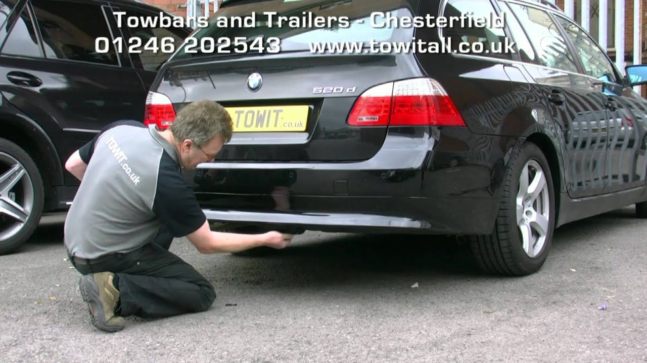 bmw e46 tow bar fitting instructions