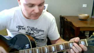 ♪♫ Neil Young - The Needle And The Damage Done (Tutorial)