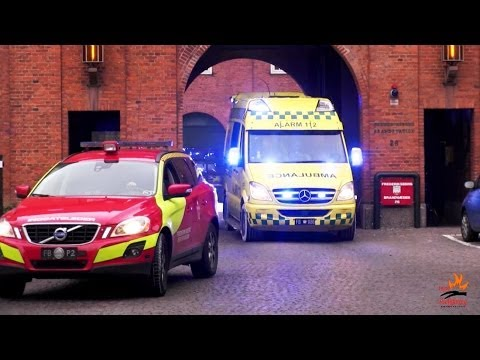 Capital City Metro EMS compilation: Copenhagen and Frederiksberg