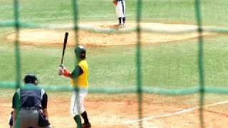 2009/09/13 関西独立リーグ 神戸9C対紀州R 第一試合に三番手として登...