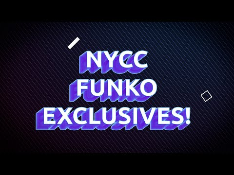 2020 NYCC Funko Exclusives!