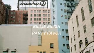 party favor // billie eilish lyrics español