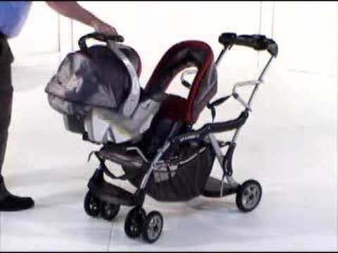 Sit-n-Stand LX Stroller Review - YouTube
